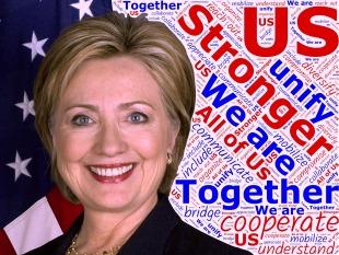 "Clintons Message: ""Our best days lie still ahead"""